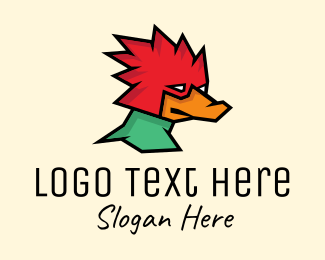 Woodpecker - Woodpecker Bird logo design
