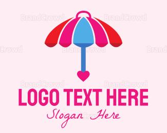 Umbrella - Lovely Umbrella logo design