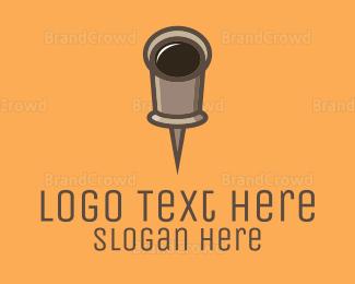 Cup - Cup Pin logo design