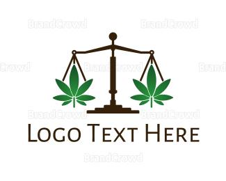 Equilibrium - Cannabis Justice logo design