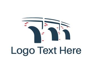 Brick - Stone Bridge logo design