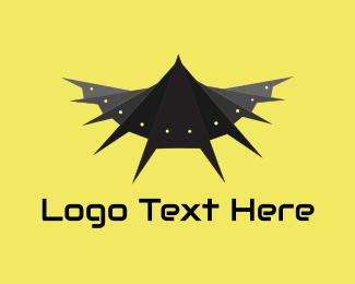 Robot - Bat Robot logo design