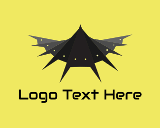 Comic - Bat Robot logo design