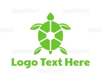 Eco-friendly - Eco Turtle logo design
