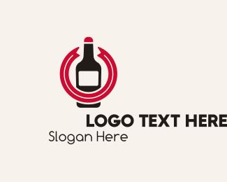 Simple - Simple Beer Bottle logo design