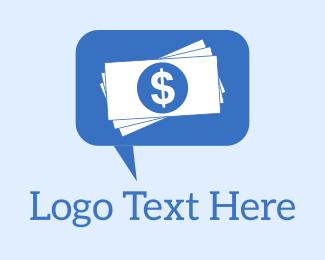 Loan - Money Communication logo design