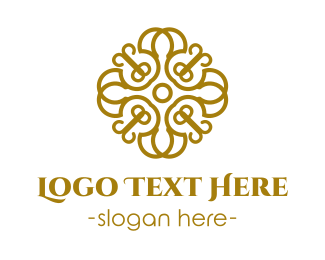 Golden & Elegant Logo