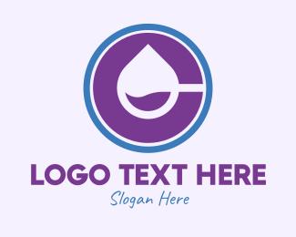 Chemical - Chemical Droplet Letter C logo design