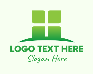 Agricultural - Green Organic Company logo design