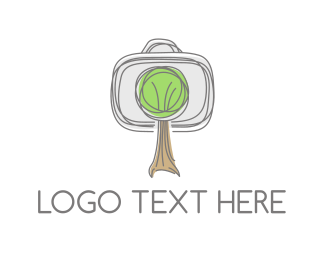 Hand Drawn - Tree Sketch logo design