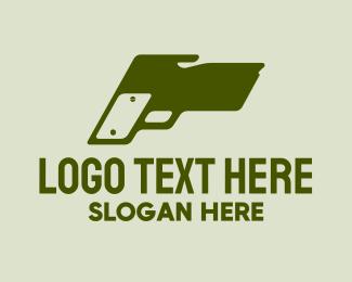 K9 - Canine Handgun logo design