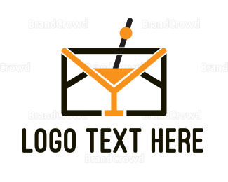 Cocktail - Mail Cocktail logo design