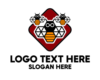 Honey Bee - Smart Bee Group logo design