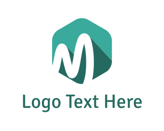 Corporate - Mint Letter M logo design