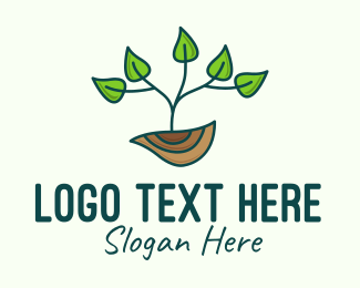Nature Conservation - Tree Planting Conservation logo design