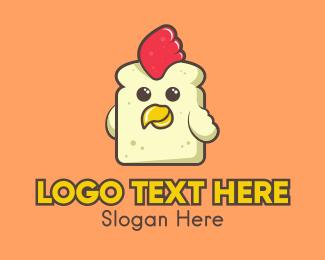 Poultry - Chicken Sandwich Restaurant logo design