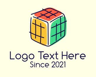 Preschool - Preschool Colorful Block logo design