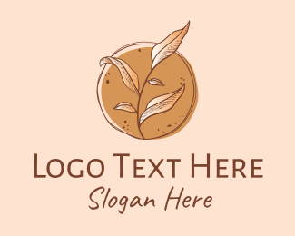 Soil - Vintage Herb Leaves  logo design