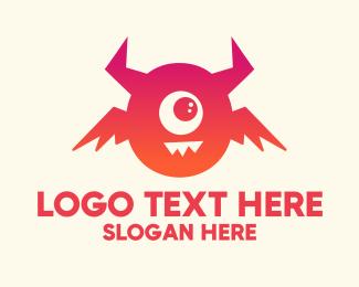 Letter O - Letter O Monster logo design