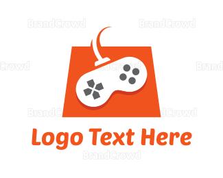 Remote - Game Shop logo design