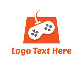 Console - Game Shop logo design