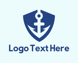Change - Insurance Anchor Shield logo design
