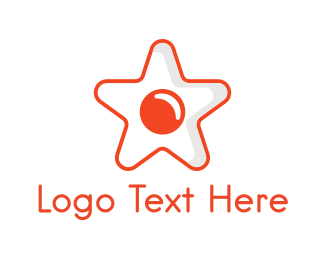 Fried Egg - Star Egg logo design