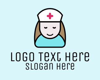Doctor - Happy Nurse logo design