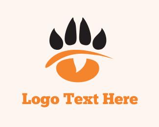 Claw - Paw Eye logo design