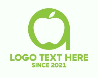 Esports - Apple Letter A logo design