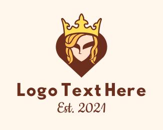 Queen - Royal Queen logo design