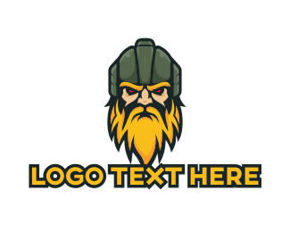 Viking - Barbarian Esports Gaming Clansman logo design