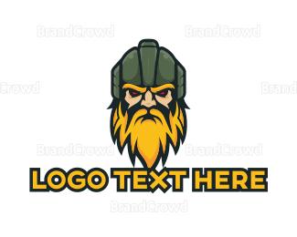 Esports - Barbarian Esports Gaming Clansman logo design