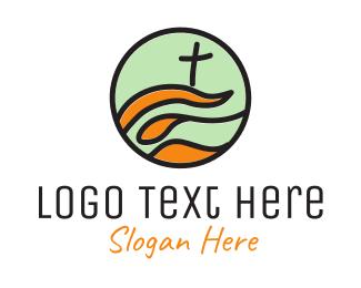 Church - Modern Church logo design