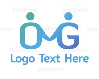 Couple - Couple OMG logo design