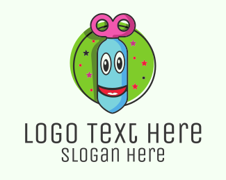 Funny - Happy Face Bomb logo design