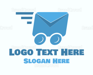 Post Office - Fast Mail logo design