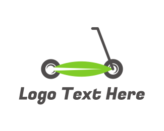 Cycle - Electronic Scooter logo design