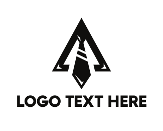 Lawfirm - Black Triangle Tie logo design