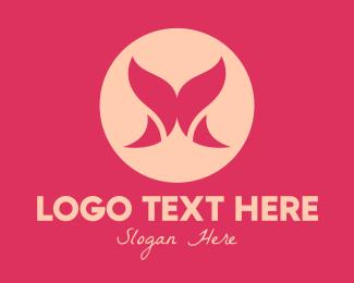 Curve - Pink Lingerie logo design
