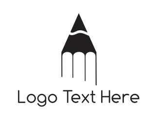Childcare - Pencil Tip logo design