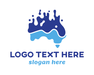 Australian - Australian Water Reserve  logo design