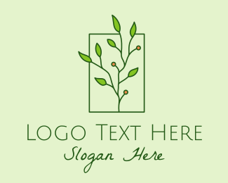 Natural Products - Natural Berry Plant logo design