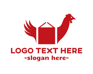 Chicken - Chicken Box logo design