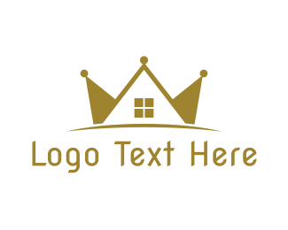 """Crown Real Estate"" by LogoBrainstorm"