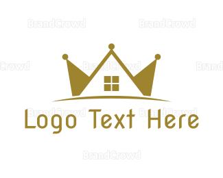 """Crown Real Estate"" by LogoBrainstorm"