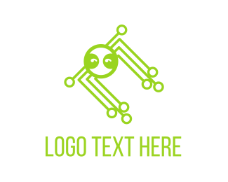 Chatbot - Octopus Tech logo design