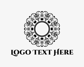 Decor - Heart Circle logo design