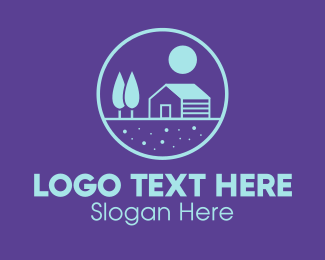 Tree - Realty Housing Property logo design