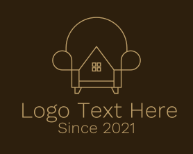 Real Estate - Home Couch Furnishing logo design